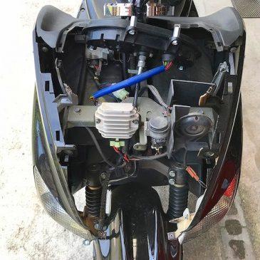 マジェスティ125 レギュレーター交換