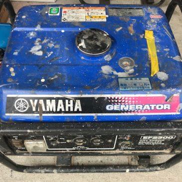 YAMAHA発電機の修理①