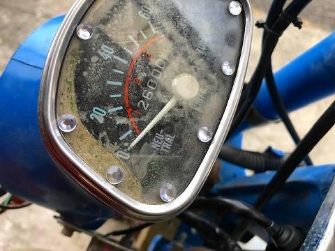 CF50 シャリーの修理 その3 メーター修理