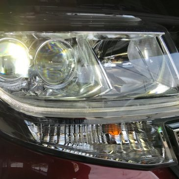 タントカスタム LA600S LEDヘッドライト修理