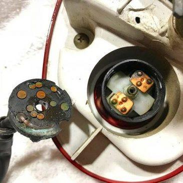 スズキ SW1 キーシリンダー接点修理