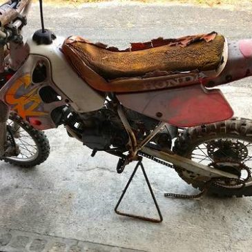 ホンダ CR80 修理